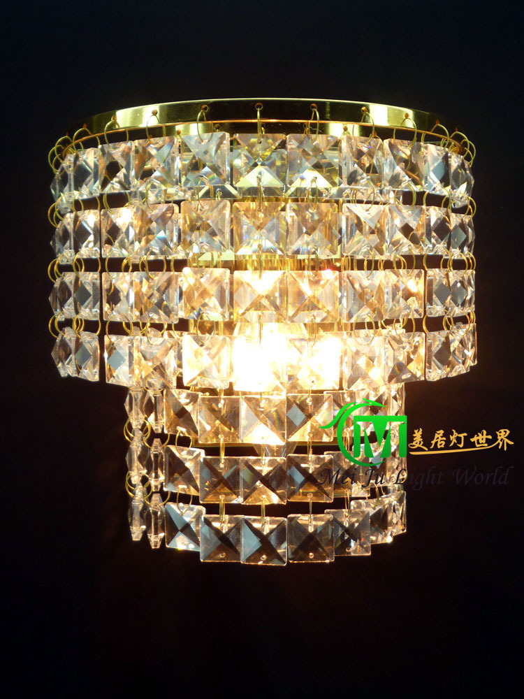 Hot Stone Wall Lamp Led Chrome : Aliexpress.com : Buy Hot selling Crystal Wall Sconces With E14 Crystal wall lamp Chrome / Gold ...