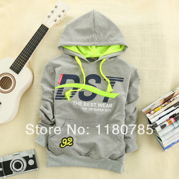 2014 new Brand children clothing boy sports hoodies child sweatshirts spring kids t shirt hot selling,Free Shipping
