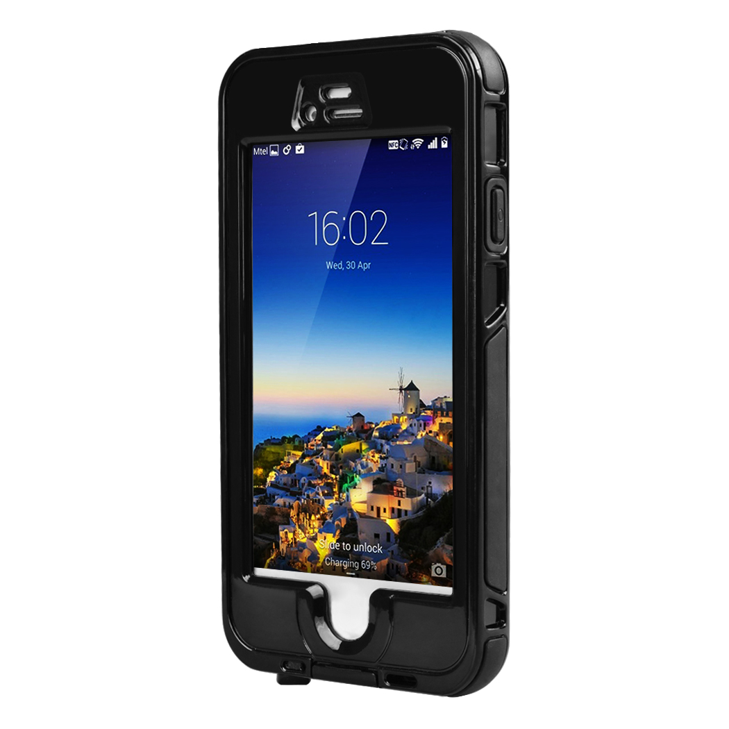 waterproof case for iphone 6 clear front back phone cover accessories strap swim diving pouch. Black Bedroom Furniture Sets. Home Design Ideas