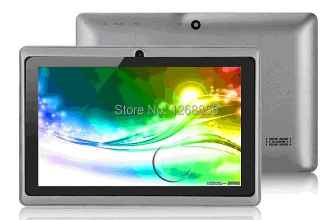 Low price! Yuntab 7 Inch Tablet Q88, Android Tablet PC,Allwinner A23 Tablet,Dual Core Tablet 1.5Ghz Dual Camera Wifi External 3G(China (Mainland))