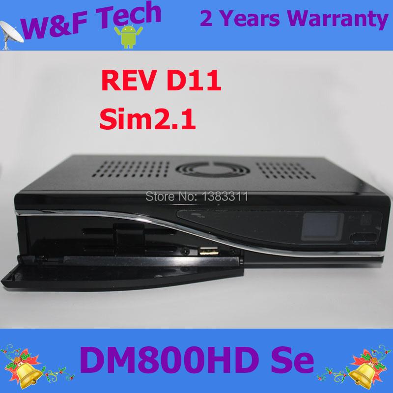 DM800se Sim2.1 Sunray 800hd DM 800SE HD digital satellite receiver DVB-S tuner Linux Enigma2 bcm4505 DM800hd se(China (Mainland))
