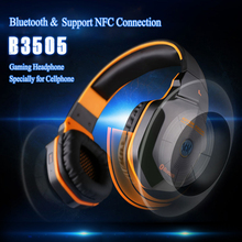 KOTION EACH B3505 Wireless Gaming Headset Gamer Stereo Gaming Headphones Bluetooth auriculare Mic NFC For IPhone6 6 Plus Samsung