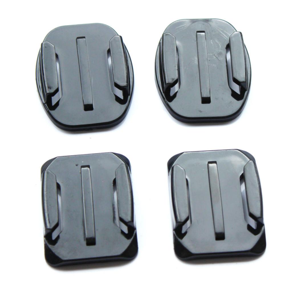 Gopro Accessories Set Flat Curved 3 Mt adhesive mounting for Gopro Hero 4 3 2 1 Xiaomi Yi Action Camera SJCAM SJ4000SJ5000SJ7000