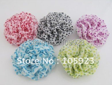 free shipping flower brooch head wear elegant ornaments hair clip & pin and brooches 60pcs/lot dual use(Hong Kong)