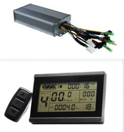36V 500W-800W 30Amax Brushless DC Motor Controller Ebike +KT-LCD3 Display One Set