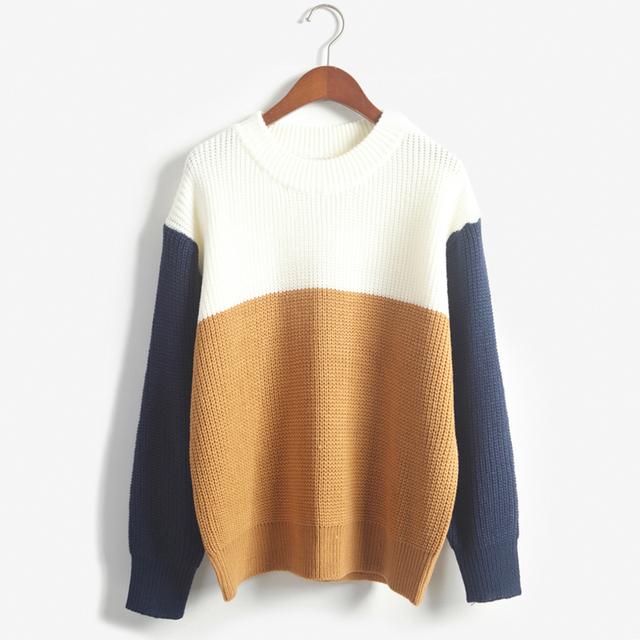 2015 осень старинные женщины свитера и пуловеры женский элегантное стиль о-образным ...