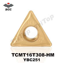 Buy free shipping ZCCCT (10pcs/lot) TCMT 16T308-HM YBC251 ZCC.CT tungsten carbide turning inserts postive carbide plate TCMT16T308 for $23.88 in AliExpress store