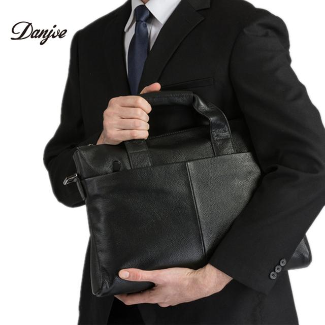Гарантия натуральная кожа мужчины сумка мода портфель коровьей сумки на ремне, деловой ...