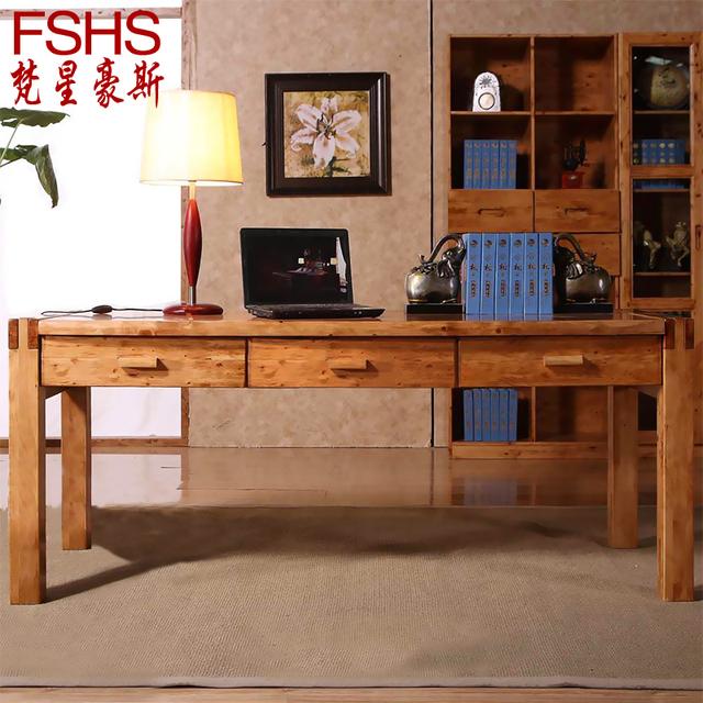 bois de c dre fshs ikea bureau d 39 ordinateur bureau double. Black Bedroom Furniture Sets. Home Design Ideas