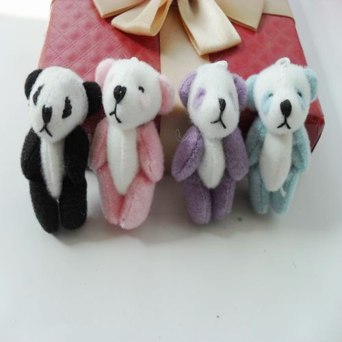 Joint doll pendant plush toy panda accessories promotional multi color<br><br>Aliexpress