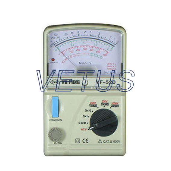 YF-520 High resistance Pointer Insulation Tester analog insulation meter of high accuracy<br><br>Aliexpress