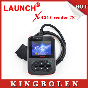 2015 New Released Original Launch X431 Creader VII Plus Code Reader +Oil Reset Function Creader 7S Update Via Official Website