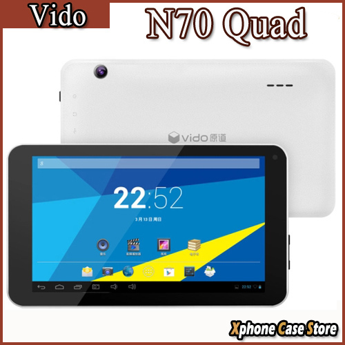 Original Vido N70 Quad 7 0 Inch 1024x600 Android 4 4 External 3G Tablet PC RK3126