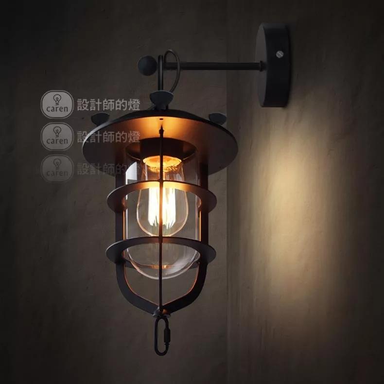 Loft e27 modern indoor wall lighting wall light fixtures for Modern sconces light fixtures