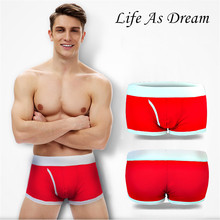 Buy LAD Men Underwear Boxers loose Calecon Sexy Mens boxer Male Cuecas Man cotton Boxershorts Cueca Men's Underpants Brand Underwear for $8.66 in AliExpress store