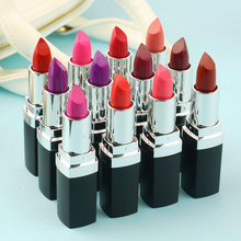 Hot! 12 Different Colors Sexy Lipstick Waterproof long lasting moisturizing Lip Beauty Lip Gloss Makeup New Fashion