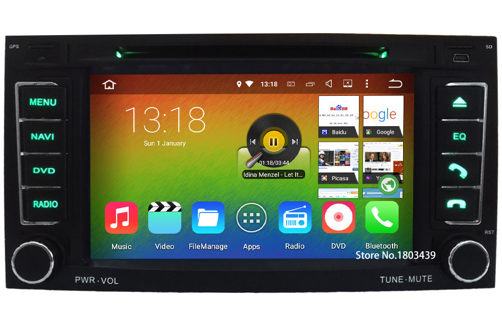 7″ Android 6.0 Octa Core Cortex A53 PX5 64-Bit 2GB RAM 32GB ROM Car DVD Player Radio Stereo GPS For Volkswagen TOUAREG 2004-2011