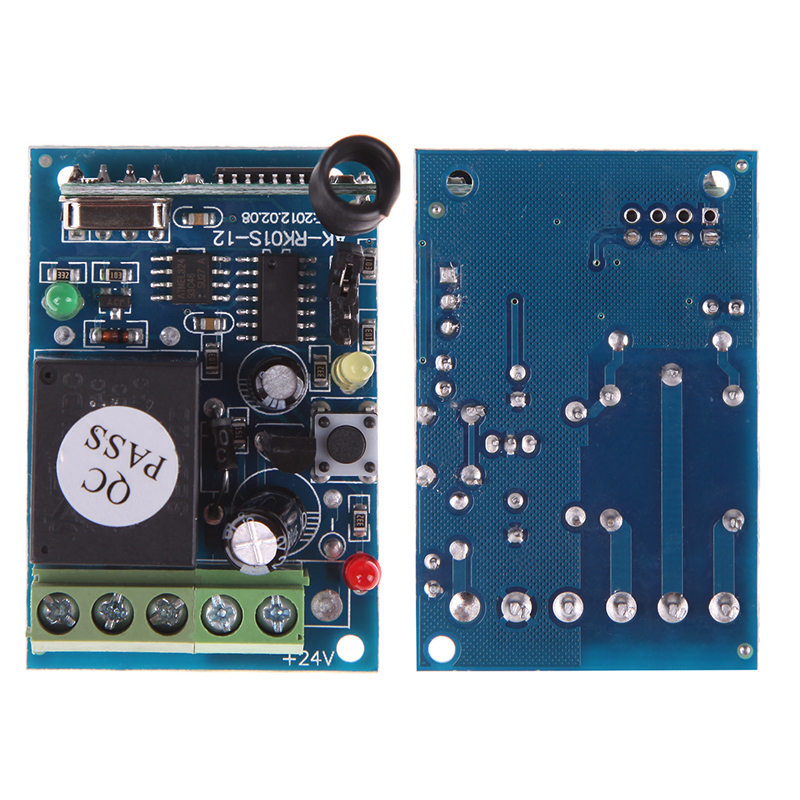 High Quality 433MHz DC12V 1 Controle Remoto Channel Learning Code Wireless Remote Control Relay Mode uzaktan kumanda(China (Mainland))