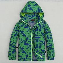 Children Outerwear Coat Sporty Kids Clothes Double deck Waterproof Windproof Boys Jackets For 4 15Y 2