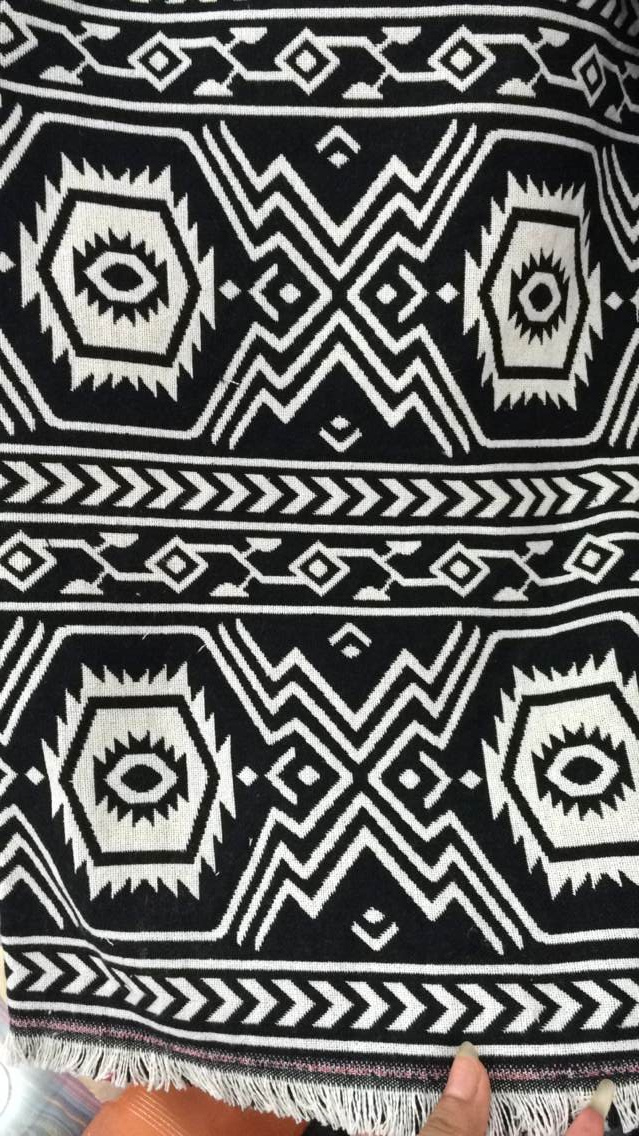 1 meter poly cotton fabric for sewing ethnic fabric zakka patchwork fabric handmade tecido national style jacquard dobby cloth(China (Mainland))