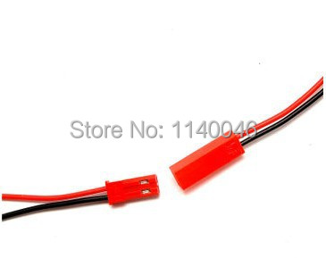 20PCS JST plug wire 20CM public bus for one pair 2P model toys for plug power cable (10 pairs)(China (Mainland))
