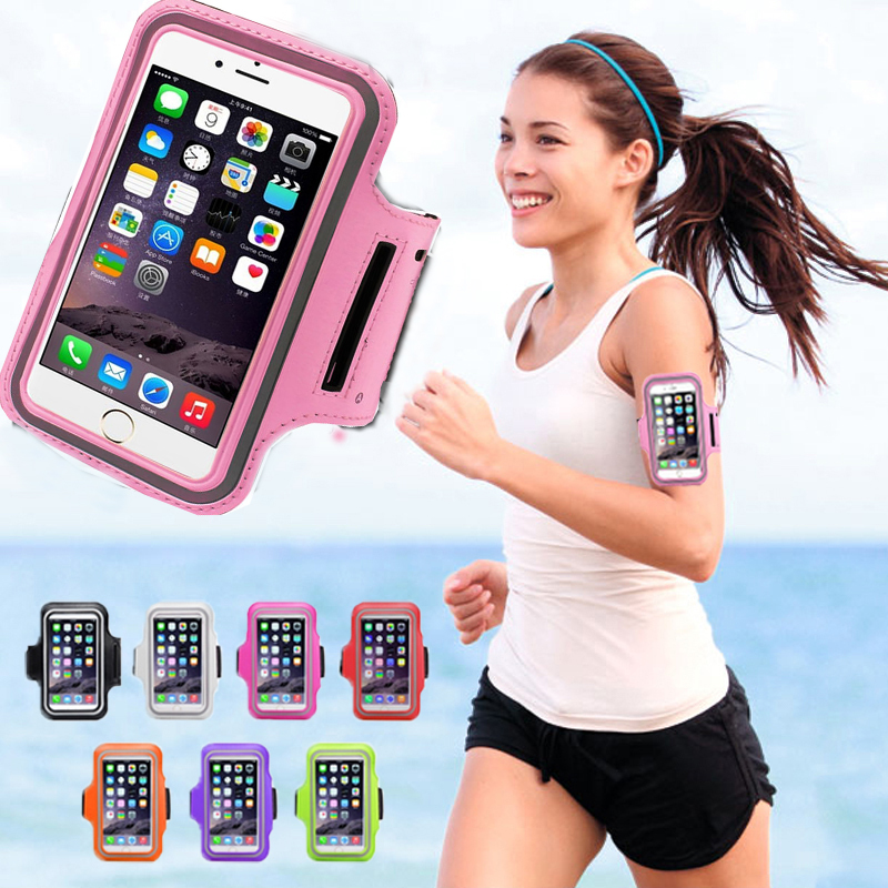 Adjustable Running SPORT GYM Armband Bag Case for iPhone 6 6S 6G Waterproof Jogging Arm Band Mobile Phone Belt Cover+Wholesale