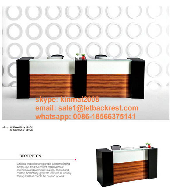 modern design China Factory Supply Office Melamine Reception Desk / Counter / table(China (Mainland))