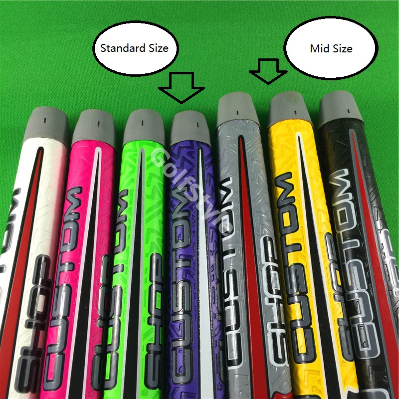 Free Shipping Mid Size Custom Scotty Shop golf putter Grips colorful replacement club builder using golf grip(China (Mainland))