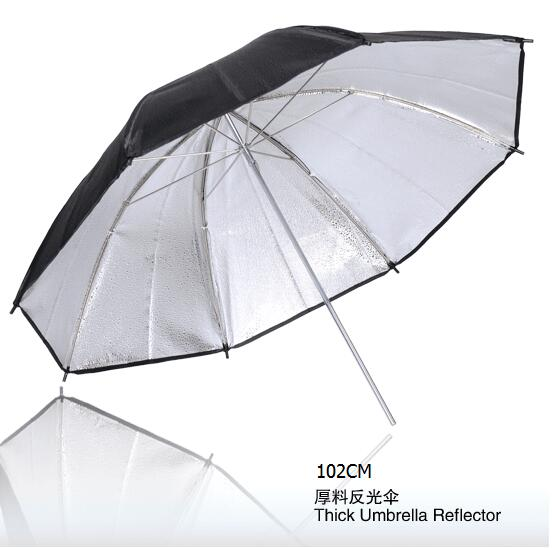 NiceFoto SUM-40(102cm) Studio lighting accessories Thick umbrella reflector, photography umbrella 102CM(China (Mainland))