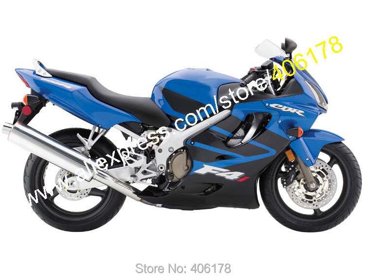 Hot Sales,For Honda CBR 600 F4i 2004 2005 2006 2007 CBR600 F4i 04 05 06 07 Blue Black Motorcycle fairing (Injection molding)<br><br>Aliexpress