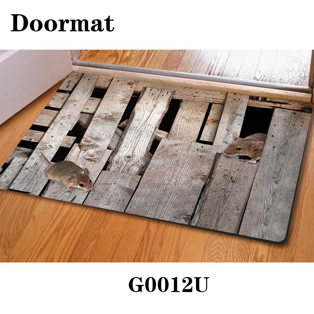 Rubber floor mats for house -