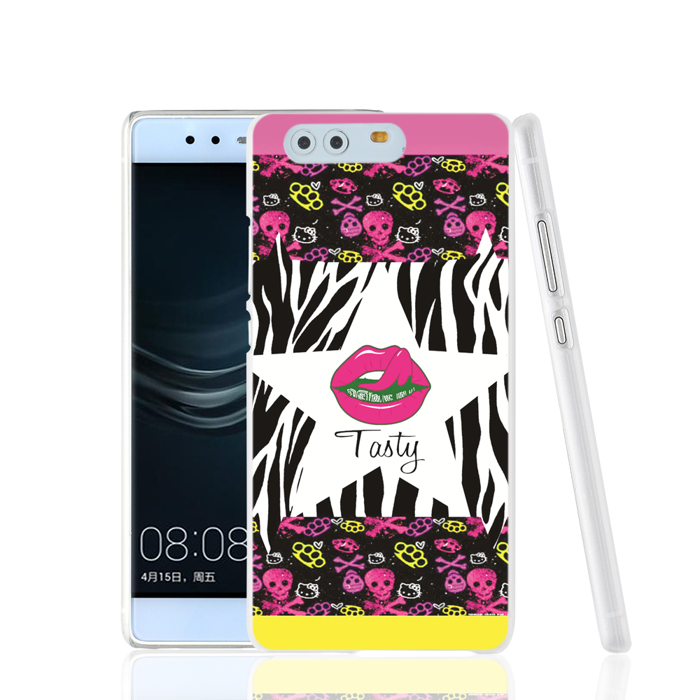 06668 Lips Pics Art cell phone Cover Case for huawei Ascend P7 P8 P9 lite Maimang G8(China (Mainland))