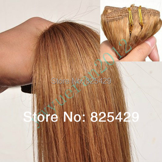 200g #12 light brown Virgin Brazilian Factory Outlet Price AAA+ 16-28 Remy Human Hair Extensions Weft  free shipping<br><br>Aliexpress