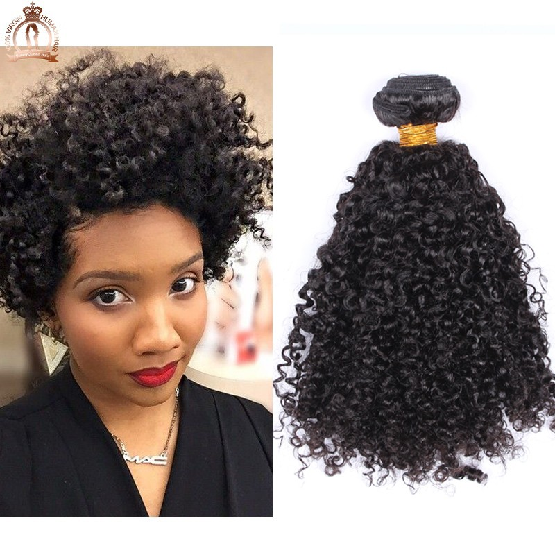 100 Unprocessed Mongolian Kinky Curly Hair Extensions 3pcs Kinky