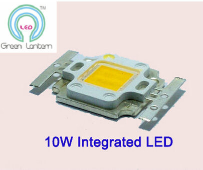 factory direct wholesale 10W integrated high power led lamp beads10w cob led moudle 10w high power led free shipping(China (Mainland))