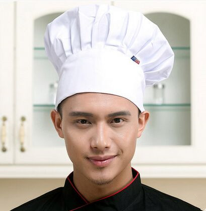 red chef hat black personalized chef hat chef cook hat(China (Mainland))