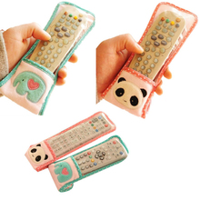 Splendid Circleof Remote Control Cover Fabric Air Conditioning Tv Remote Control Protective Case (China (Mainland))