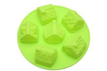 Форма для кексов в виде домиков