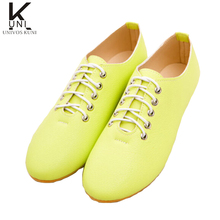 Women Flats 2016 Spring New Brand Fashion Faux Leather Low Round Toe Lace Up Casual Ladies Shoes Woman Candy Plus Size DX2426