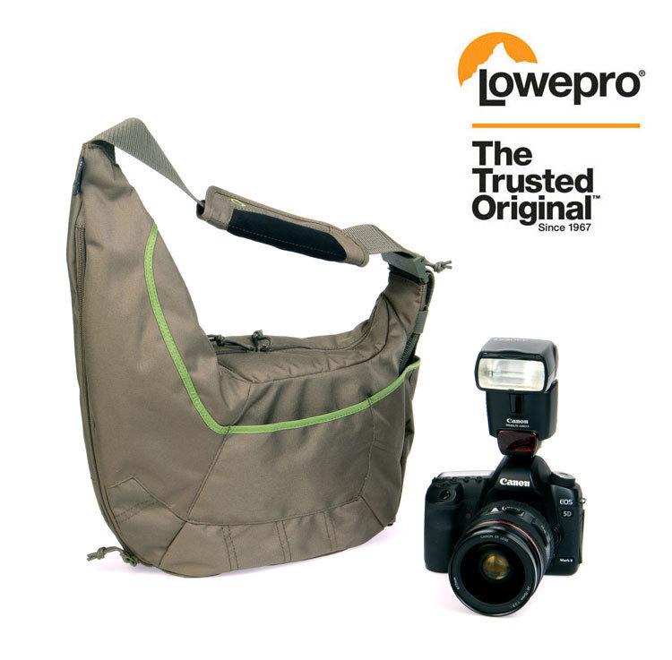 (Mica/Green) Lowepro Passport Sling II Carry Bag Shoulder Bag Digital SLR Camera free shipping(China (Mainland))
