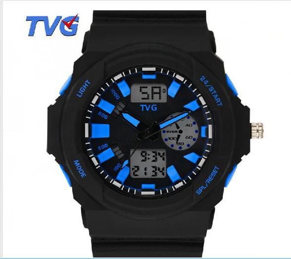 New Fashion Brand Men Women Digital Display Samurai LED Watch For Male Multifunction Sport Watch Water Resistant Wristwatch BOX<br><br>Aliexpress