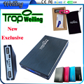 Tropweiling high end Power Bank 12000mAh Portable External Battery Pack powerbank with polymer battery for all