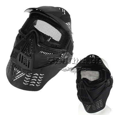 Masks Protective Outdoor War Game Military Tactical Full Face Shield Mask Comfortable to Wear 1pcs Best Quality A9(China (Mainland))