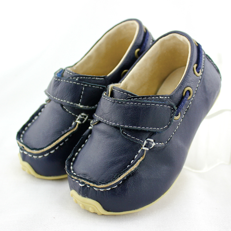 TipsieToes Brand High Quality Genuine Leather Children Sneakers Shoes For Boys And Girls Kids Loafer Shoes 2016 Autumn Spring(China (Mainland))