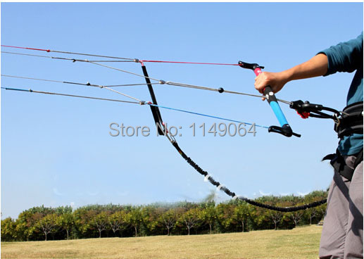 free shipping high quality quad line power stunt kite control bar 2000lb +1000lb used for w3 w5 N7 N9 kitesurfing outdoor toys(China (Mainland))