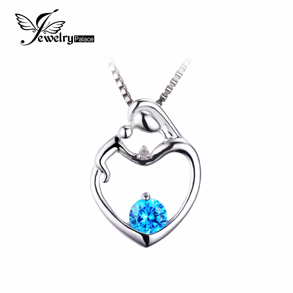 Buy mother child heart love100 natural for Fine jewelry diamond pendants