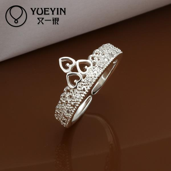R218-8 2015 Hot selling 925 sterling silver party ring for women fashion romantic jewelry(China (Mainland))