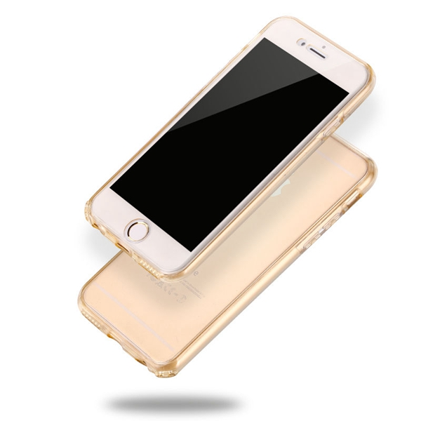 Phone Bag For Apple iPhone 7/7 Plus/6/6S/6 Plus/5/5S 360 Degree Full Protection Soft TPU Gel Silicone Clear Cover For iPhone 7