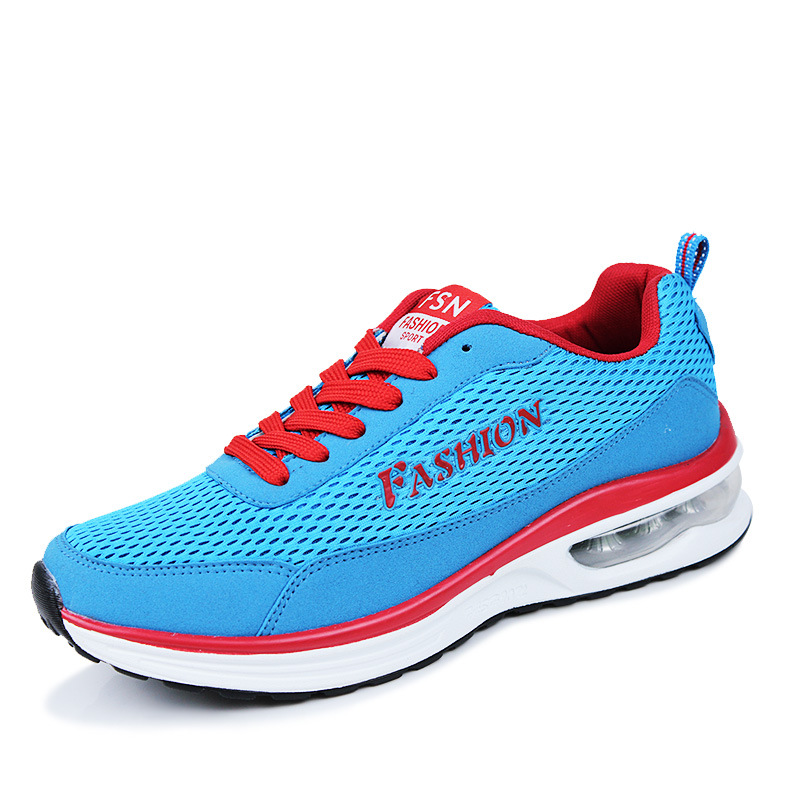 2016 Fashion Spring Running Shoes For Men High Quality Breathable Mesh Outdoor Sneakers Walking Sport Shoes Size 39-44 ShoesA189(China (Mainland))