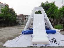 inflatable water slide,inflatable climbing water slide,Inflatable floating water slide on sea(China (Mainland))